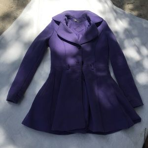 Jou Jou Purple Peacoat